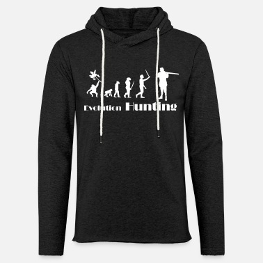 Hunting Evolution Hunting, Hunter, Jäger - Unisex Kapuzen-Sweatshirt