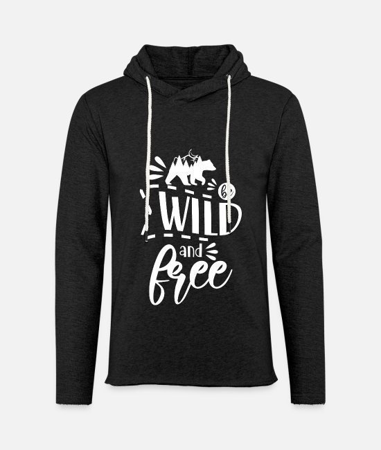 Nature Hoodies & Sweatshirts - Nature outdoor hiking camping - Unisex Sweatshirt Hoodie charcoal grey