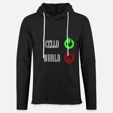 Cello cello - Light Unisex Sweatshirt Hoodie