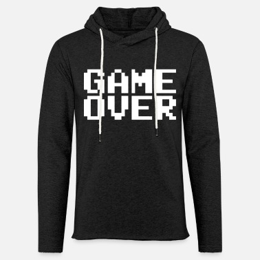 Game Over GAME OVER - Sweat-shirt à capuche léger unisexe