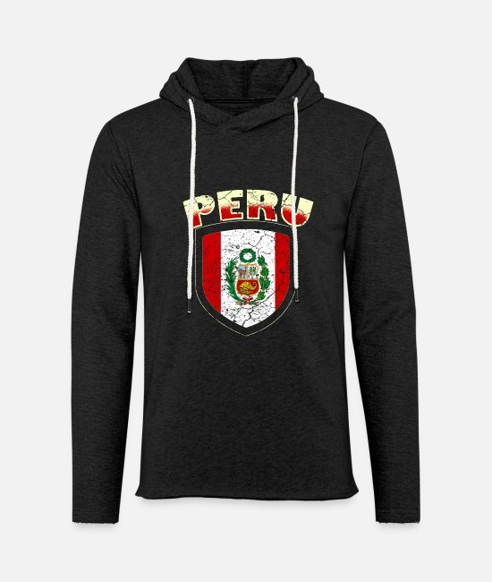 South America Hoodies & Sweatshirts - Peru Lima South America - Unisex Sweatshirt Hoodie charcoal grey
