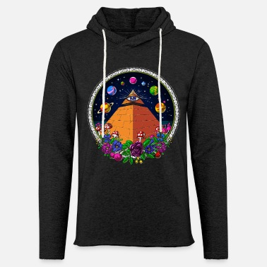 All Egyptian Pyramid All Seeing Eye Psychedelic Trip - Lätt hoodie unisex