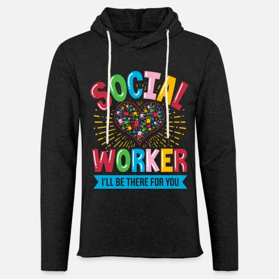 Occupation Hoodies & Sweatshirts - Social Worker Child Social Worker - Unisex Sweatshirt Hoodie charcoal grey