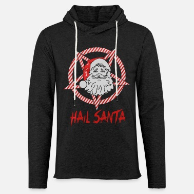 Santa Hail Santa Xmas shirt - Light Unisex Sweatshirt Hoodie