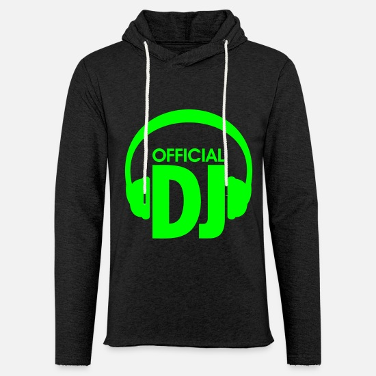 Music Hoodies & Sweatshirts - Official DJ, Disc Jockey discjockey - Unisex Sweatshirt Hoodie charcoal grey