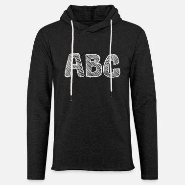 School Beginner abc learn alphabet as a school beginner - Unisex Sweatshirt Hoodie