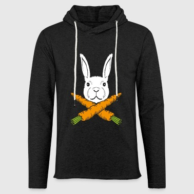Easter Bunny Skull Bunny Skull Pirate Bunny - Light Unisex Sweatshirt Hoodie