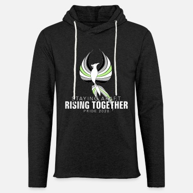 Otherwise Agender Staying Apart Rising Together Pride 2020 - Unisex Sweatshirt Hoodie