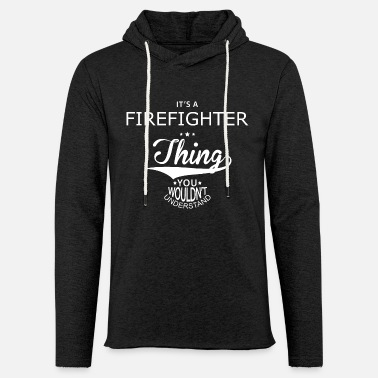 Hero firefighter - Light Unisex Sweatshirt Hoodie