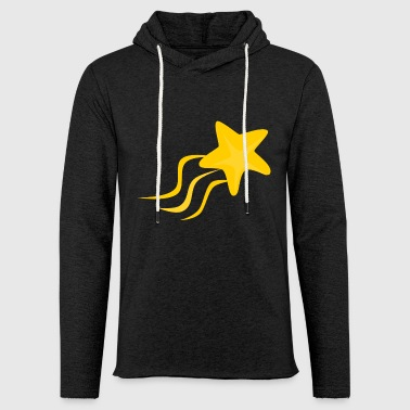 shooting star - Light Unisex Sweatshirt Hoodie