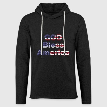 God Bless America - Light Unisex Sweatshirt Hoodie