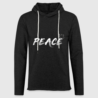 Peace / Peace / Peace Dove - Light Unisex Sweatshirt Hoodie