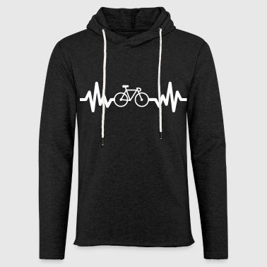 Bike is life - cycling - Light Unisex Sweatshirt Hoodie