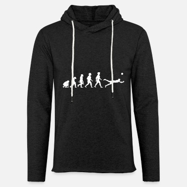 Beach Volleyball Evolution Beach Volleyball Spieler Sport - Leichtes Kapuzensweatshirt Unisex
