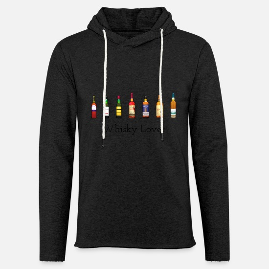Love Hoodies & Sweatshirts - Whiskey lover - Unisex Sweatshirt Hoodie charcoal grey
