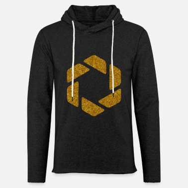HEXAGONS SIXTEEN GOLD 17 - Kevyt unisex-huppari
