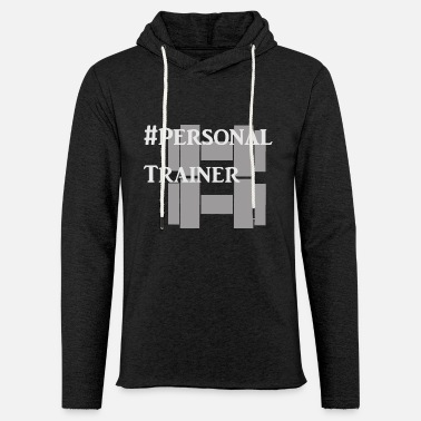 Personal Trainer Personal Trainer Design for Gym Trainer - Light Unisex Sweatshirt Hoodie