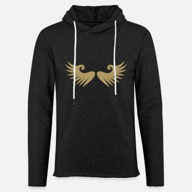 Symbols & Shapes Wings · Wings · Symbols · Shapes - Light Unisex Sweatshirt Hoodie