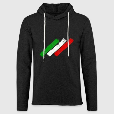 Italian flag - Light Unisex Sweatshirt Hoodie
