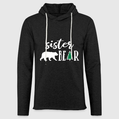 sister bear - christmas - Light Unisex Sweatshirt Hoodie