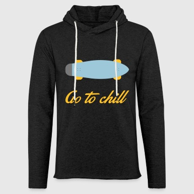 chill - Sweat-shirt à capuche léger unisexe