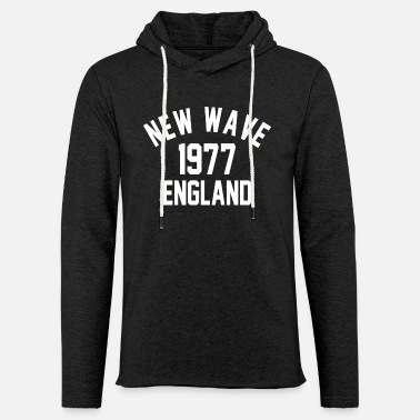 Nouvelle Vague Nouvelle Vague Angleterre 1977 - Sweat-shirt à capuche léger unisexe