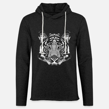 Tiger picture in picture - Light Unisex Sweatshirt Hoodie