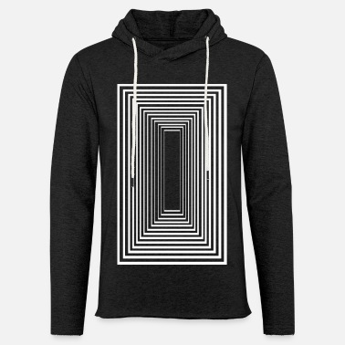 Illusion Tunnel Vision - Light Unisex Sweatshirt Hoodie
