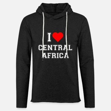 Central Park I love Central Africa - Unisex Kapuzen-Sweatshirt