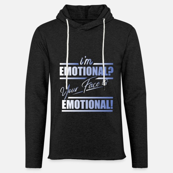 Emotion Hoodies & Sweatshirts - emotion - Unisex Sweatshirt Hoodie charcoal grey