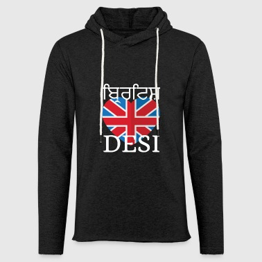 Desi BRITISH DESI - Light Unisex Sweatshirt Hoodie