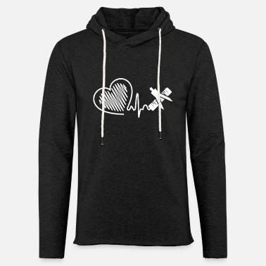 Mathematician Mathematician Mathematician Heartbeat - Unisex Sweatshirt Hoodie