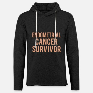 Endometrial Cancer Poison Endometrial Cancer: Endometrial Cancer Survivor - Unisex Sweatshirt Hoodie