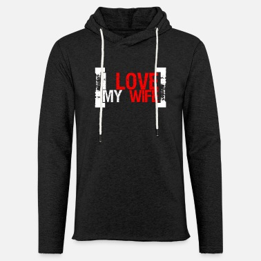 Valentines day red roses lovers couple gift - Light Unisex Sweatshirt Hoodie