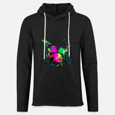 Colourful IMPACT ABSTRACT COLORFUL - Light Unisex Sweatshirt Hoodie
