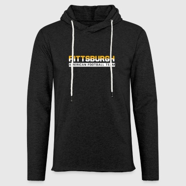 Pittsburgh Football - Sweat-shirt à capuche léger unisexe