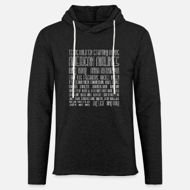 Holdem Texas Holdem Starting Hands - Light Unisex Sweatshirt Hoodie