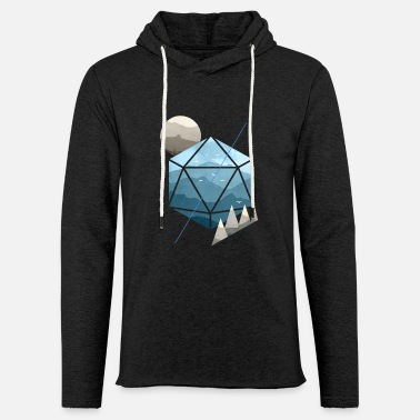 Dungeons And Dragons Dungeons & Dragons (Dnd) Watercolour D20 - Light Unisex Sweatshirt Hoodie