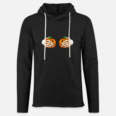 Chest pumpkin chest - Light Unisex Sweatshirt Hoodie