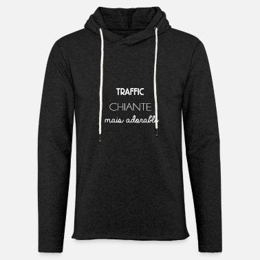 Trafic Traffic - Sweat à capuche léger unisexe