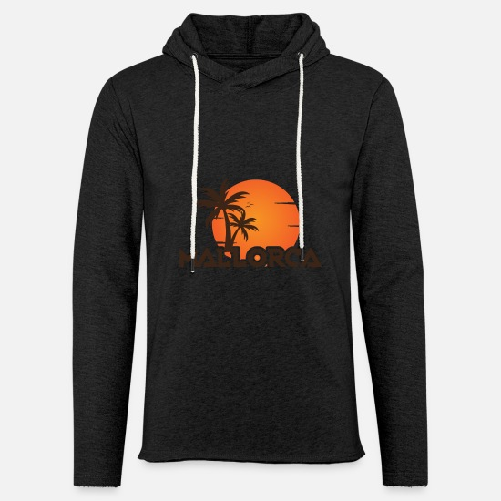 Sunset Pullover & Hoodies - MALLORCA SUNSET - Unisex Kapuzen-Sweatshirt Anthrazit