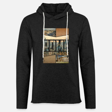 Rome Roma Rome city design as a souvenir - Light Unisex Sweatshirt Hoodie