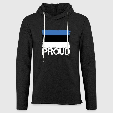 Pride flag flag home origin Estonia png - Light Unisex Sweatshirt Hoodie