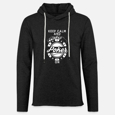 Holdem Poker gift ace bluff poker pokerface holdem - Light Unisex Sweatshirt Hoodie
