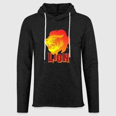 Lion - Lion - Gift - Light Unisex Sweatshirt Hoodie