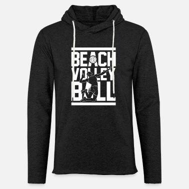 Beach Volley Beach-volley - Sweat-shirt à capuche léger unisexe