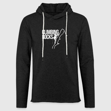 Rock climbing Rock! - Climbing Rocks - Light Unisex Sweatshirt Hoodie