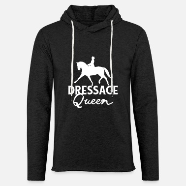 Dressur Dressur Queen - Riding dressur Pony Tournament - Lett unisex hettegenser