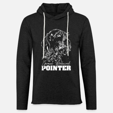 German GERMAN WIREHAIRED POINTER Wilsign's Gift Dogs - Light Unisex Sweatshirt Hoodie