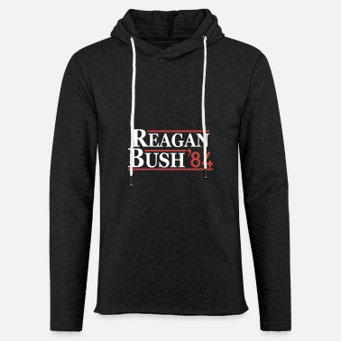 Bush Vintage 80s Reagan Bush 84 Republican Political - Unisex Sweatshirt Hoodie